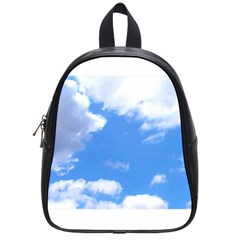 Summer Clouds And Blue Sky School Bags (small)