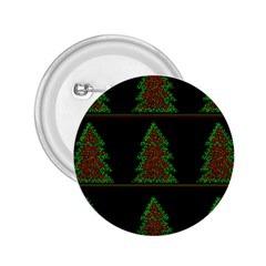 Christmas trees pattern 2.25  Buttons