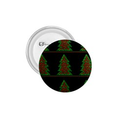 Christmas trees pattern 1.75  Buttons