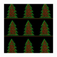Christmas trees pattern Medium Glasses Cloth