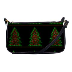Christmas trees pattern Shoulder Clutch Bags