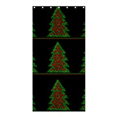 Christmas trees pattern Shower Curtain 36  x 72  (Stall)