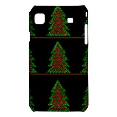 Christmas trees pattern Samsung Galaxy S i9008 Hardshell Case