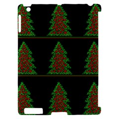 Christmas trees pattern Apple iPad 2 Hardshell Case (Compatible with Smart Cover)