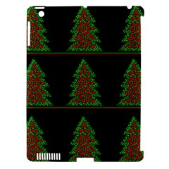 Christmas trees pattern Apple iPad 3/4 Hardshell Case (Compatible with Smart Cover)