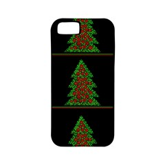 Christmas trees pattern Apple iPhone 5 Classic Hardshell Case (PC+Silicone)