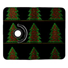 Christmas trees pattern Samsung Galaxy Note II Flip 360 Case