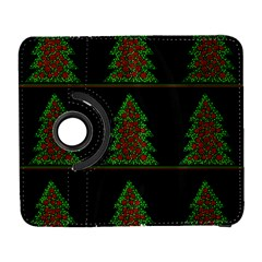 Christmas trees pattern Samsung Galaxy S  III Flip 360 Case