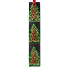 Christmas trees pattern Large Book Marks