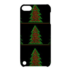 Christmas trees pattern Apple iPod Touch 5 Hardshell Case with Stand