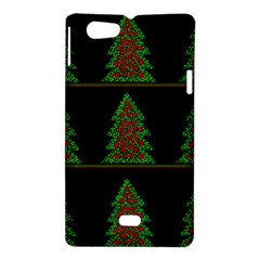 Christmas trees pattern Sony Xperia Miro