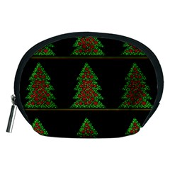 Christmas trees pattern Accessory Pouches (Medium)