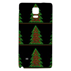 Christmas Trees Pattern Galaxy Note 4 Back Case