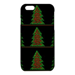 Christmas trees pattern iPhone 6/6S TPU Case