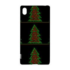 Christmas Trees Pattern Sony Xperia Z3+