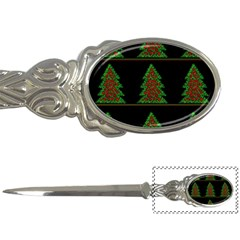 Christmas trees pattern Letter Openers