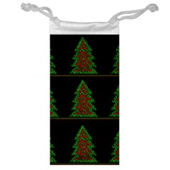 Christmas trees pattern Jewelry Bags