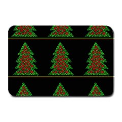 Christmas trees pattern Plate Mats