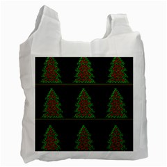 Christmas trees pattern Recycle Bag (Two Side)