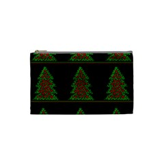 Christmas trees pattern Cosmetic Bag (Small)