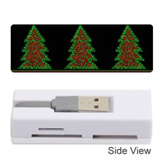 Christmas trees pattern Memory Card Reader (Stick)