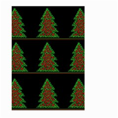 Christmas trees pattern Large Garden Flag (Two Sides)