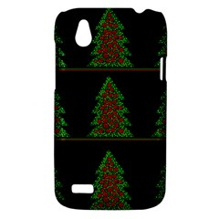 Christmas trees pattern HTC Desire V (T328W) Hardshell Case