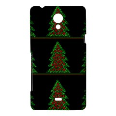 Christmas trees pattern Sony Xperia T