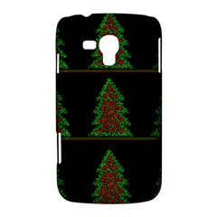 Christmas trees pattern Samsung Galaxy Duos I8262 Hardshell Case