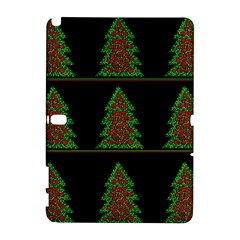 Christmas trees pattern Samsung Galaxy Note 10.1 (P600) Hardshell Case