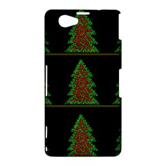 Christmas trees pattern Sony Xperia Z1 Compact