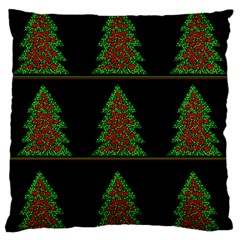 Christmas trees pattern Standard Flano Cushion Case (One Side)