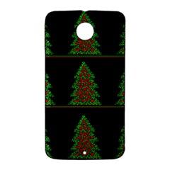 Christmas trees pattern Nexus 6 Case (White)