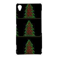 Christmas trees pattern Sony Xperia Z3