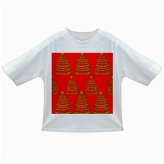 Christmas trees red pattern Infant/Toddler T-Shirts