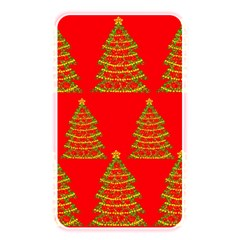 Christmas trees red pattern Memory Card Reader