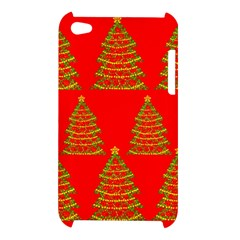Christmas trees red pattern Apple iPod Touch 4