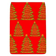 Christmas trees red pattern Flap Covers (S)