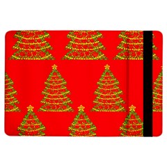 Christmas trees red pattern iPad Air Flip