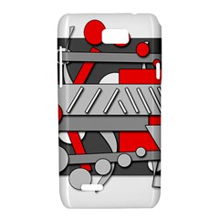 Gray and red geometrical design Motorola XT788