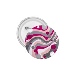 Magenta, pink and gray design 1.75  Buttons