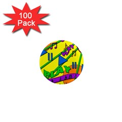 Music 1  Mini Magnets (100 pack)