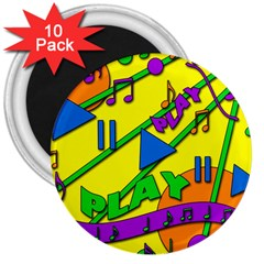 Music 3  Magnets (10 pack)