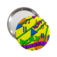 Music 2.25  Handbag Mirrors