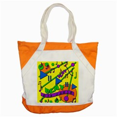 Music Accent Tote Bag