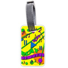 Music Luggage Tags (Two Sides)