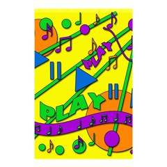 Music Shower Curtain 48  x 72  (Small)