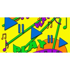Music YOU ARE INVITED 3D Greeting Card (8x4)