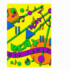 Music Small Garden Flag (Two Sides)