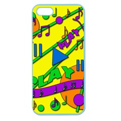 Music Apple Seamless iPhone 5 Case (Color)